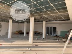 Montaj tavane casetate. sunt solutia optima pentru spatiile de birouri sau industrial.