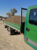 Transport agregate balastiera si executam lucrari cu utilaje (miniexcavator)