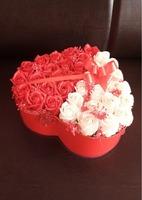 Aranjament trandafiri săpun