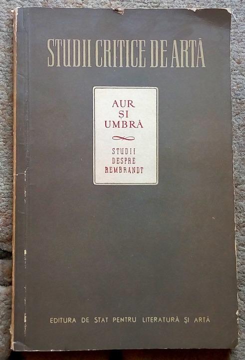 Aur si umbra, Theun De Vries, 1956