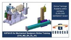 Curs Online: Proiectarea pieselor mecanice folosind programul CATIA V5