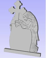 proiecte 3D pentru CNC , monumente funerare, cruci