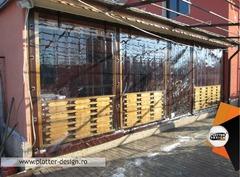Imprejmuire cu transparent terasa