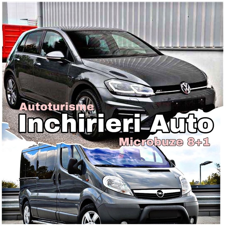 Rent a car Oradea / Inchirieri microbuze / Inchirieri remorci Bihor