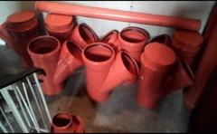 Reparatii  Tubulatura Ghena din PVC si tabla