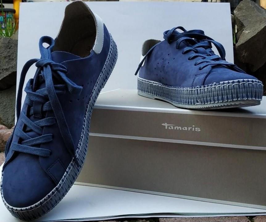 Pantofi sport tamaris din piele