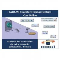 CATIA V5 Proiectare Cabluri Electrice Curs Online
