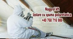Izolare cu spuma poliuretanica ignifuga☎️+40 768 716 986
