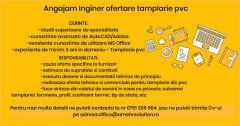 Angajam Inginer Ofertare Tamplarie PVC