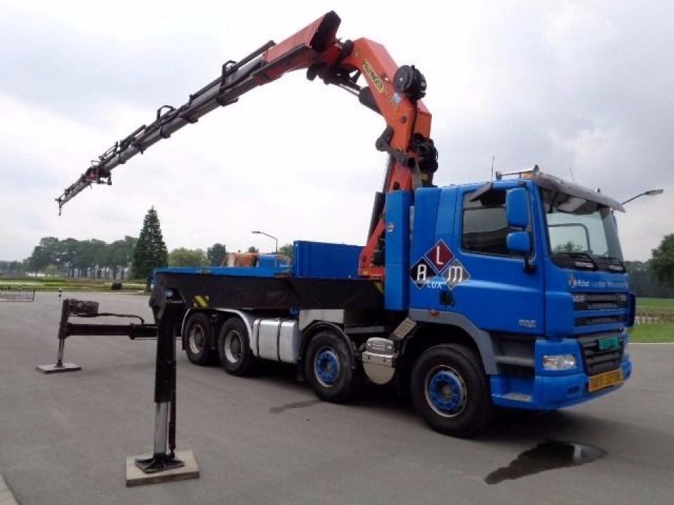 Inchiriez Camion cu Macara PK 72000, brat 28 m, capacitate 22 tone.