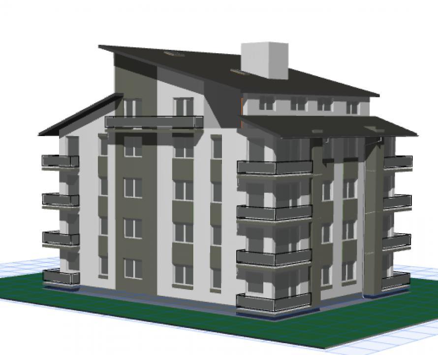 CONSTRUCTOR vinde apartamente noi in loc, RASNOV, BRASOV