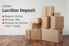 Căutăm Lucrător Depozit, Magazin Online, în Afumați, Ilfov