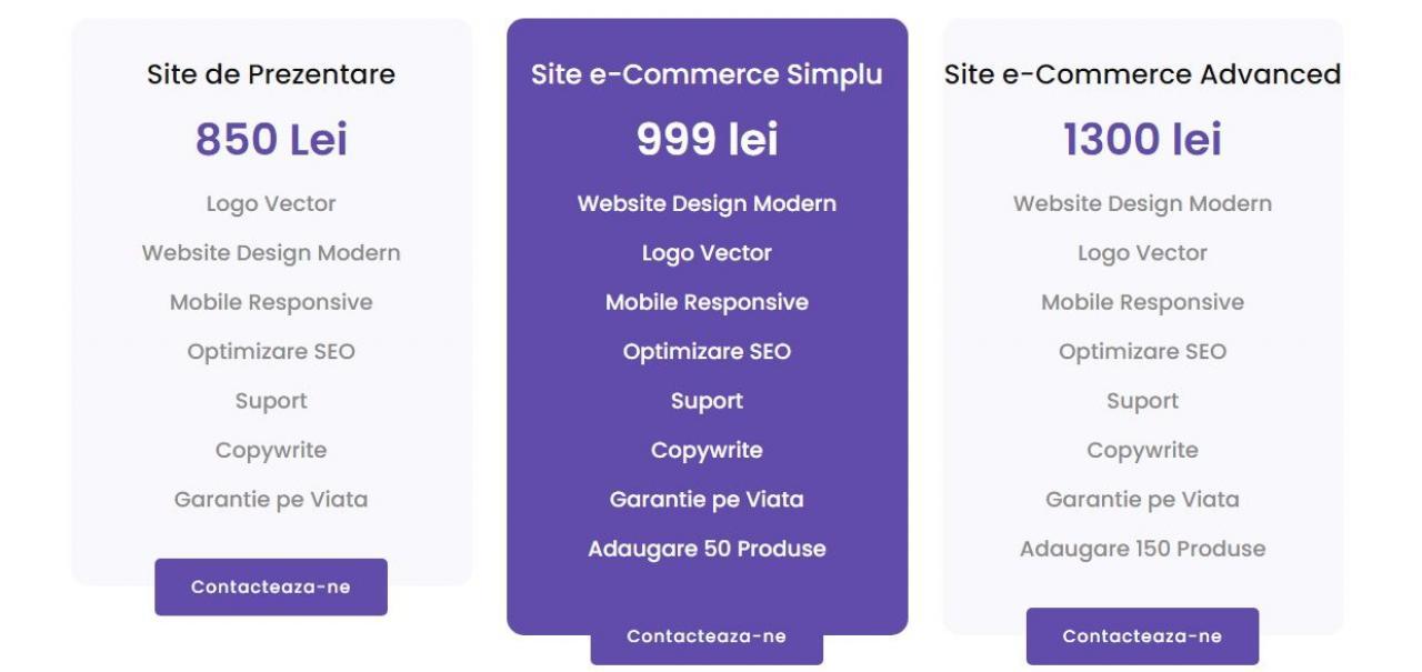 Creeam Website-uri Profesionale la cele mai mici preturi din Romania