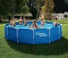 piscina metalic 457x84 sigilate în cutie