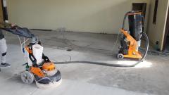 Șlefuire hale beton