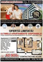 Apartament cu 3 camere , Militari Rezervelor , Chiajna .