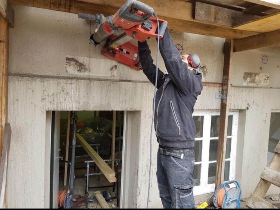 Carotare tăiere beton demolari
