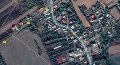 Vând casă P+M pe teren de 11000mp, intravilan, cu deschidere 29 mp liniari, Conțești, sat Bălteni