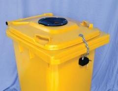 Container 240l, tomberoane deseuri 240l, pubela colectare selectiva