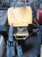 Taietor de beton nefunctional, pentru fier vechi sau piese