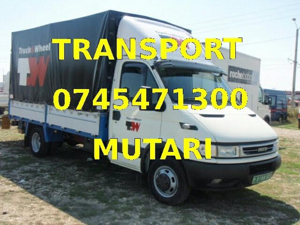 Transport marfa mobila mutari debarasari montat mobila