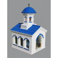 Biserica grecia - felinar luminos - troita