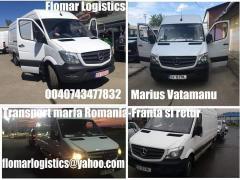 Transport marfa Romania Franta si retur