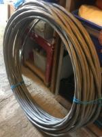 Cablu cupru armat 3 x 10 (CYABY) - 55 metri (825 lei)