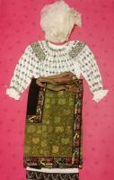Costum popular vechi zona județului Argeș !
