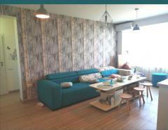 Apartament 2 dormitoare si sufragerie cu bucatarie open space