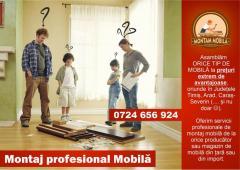Montaj mobila la domiciliu la cele mai bune preturi