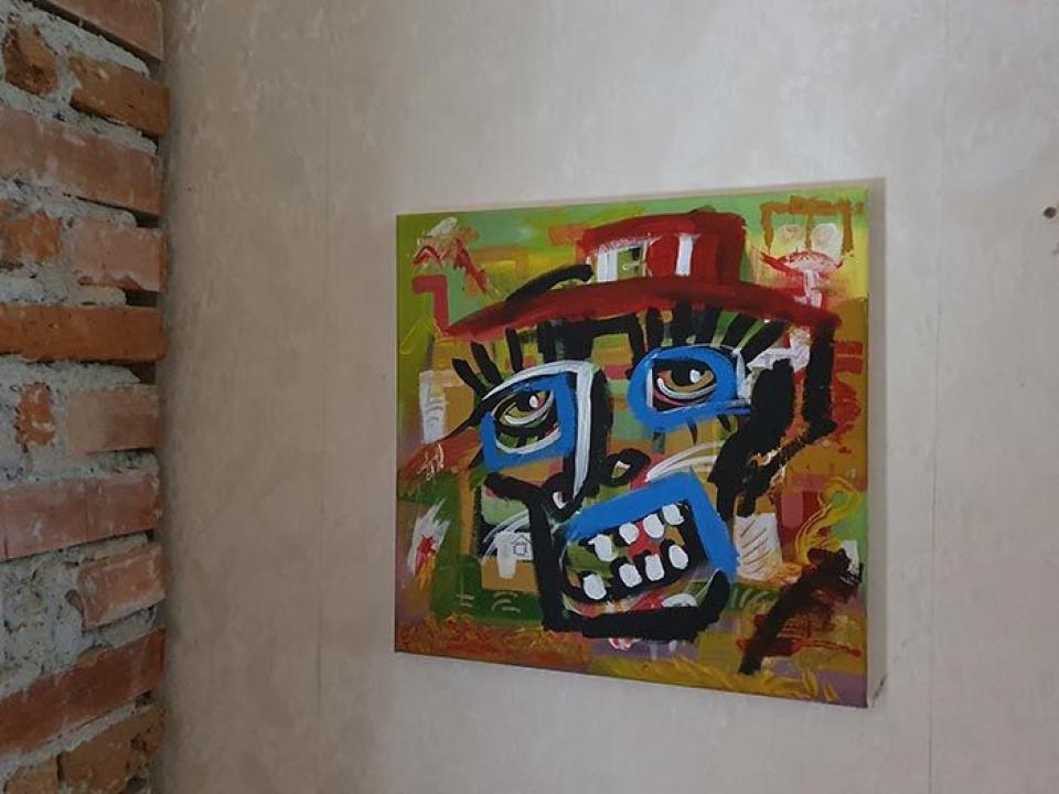 Tablouri pictate teme abstracte