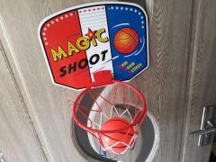Cos de baschet cu panou minge pentru copii