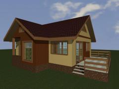 Construim casa la cheie cu materialul nostru 30mii euro