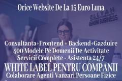 Website la doar 15 euro pe luna