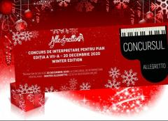 Concursul Allegretto – ONLINE, editia a VII-a, 20 decembrie 2020