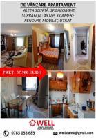 Apartament cu trei camere in Sfantu Gheorghe!