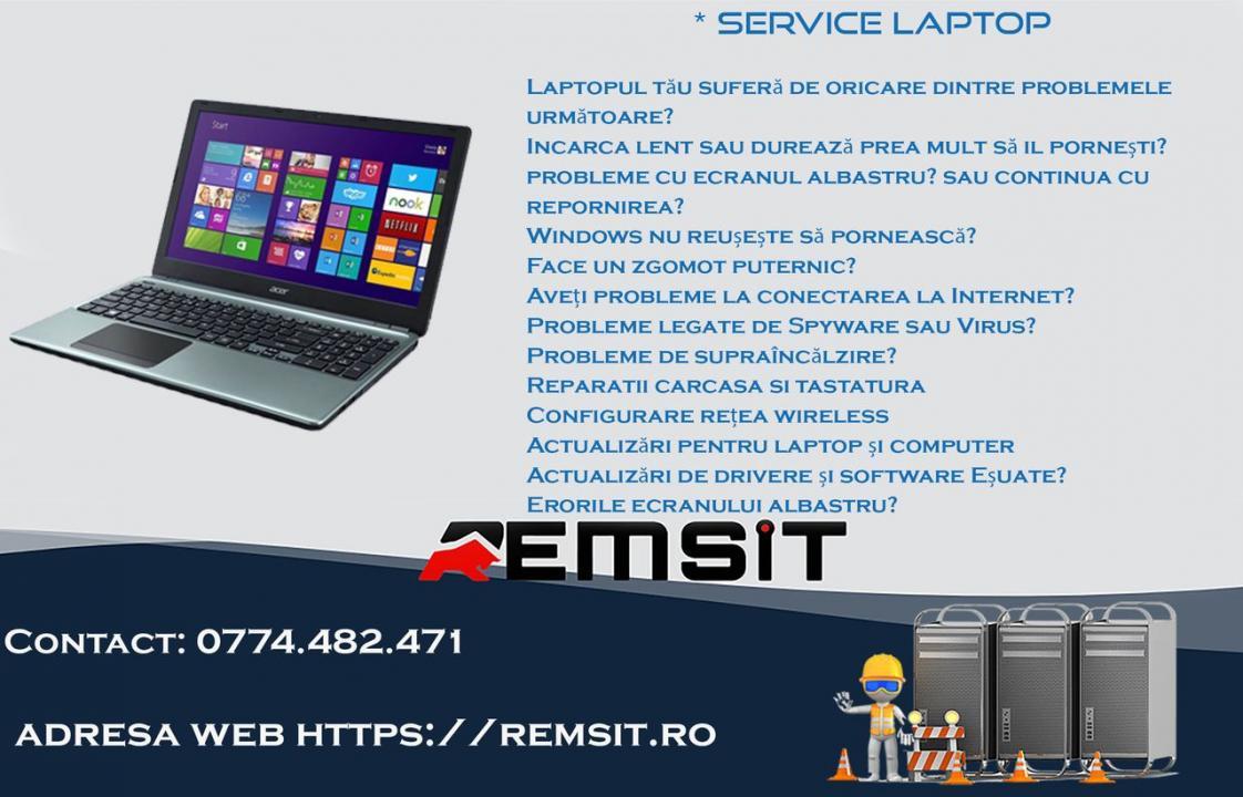 Service Laptop Timisoara - Remsit Web Services