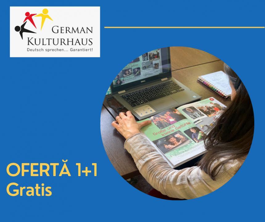 OFERTĂ 1+1 CADOU DE CRĂCIUN CURS GERMANĂ