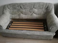 Vans set 2 fotolii si 1 canapea extensibilă
