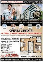 Apartament 2 camere 50 mpu zona Militari langa Metro