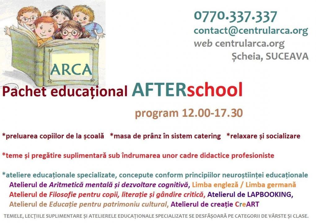 AFTERschool ARCA Suceava