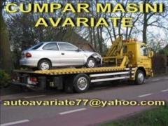 Cumpar auto avariate defecte dauna totala epave