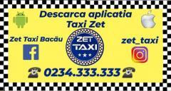 Servicii taxi Bacau