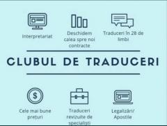 Traduceri autorizate / legalizate Drumul Taberei
