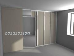 Montaj pereti despartitori-pereti de compartimentare rigips gips-carton