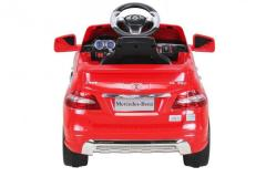 Masinuta electrica pentru copii Mercedes ML350 1x25W Rosu Nou Transport Gratuit