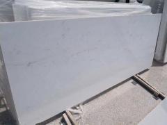 Placa din marmura alba Thassos in Bucuresti