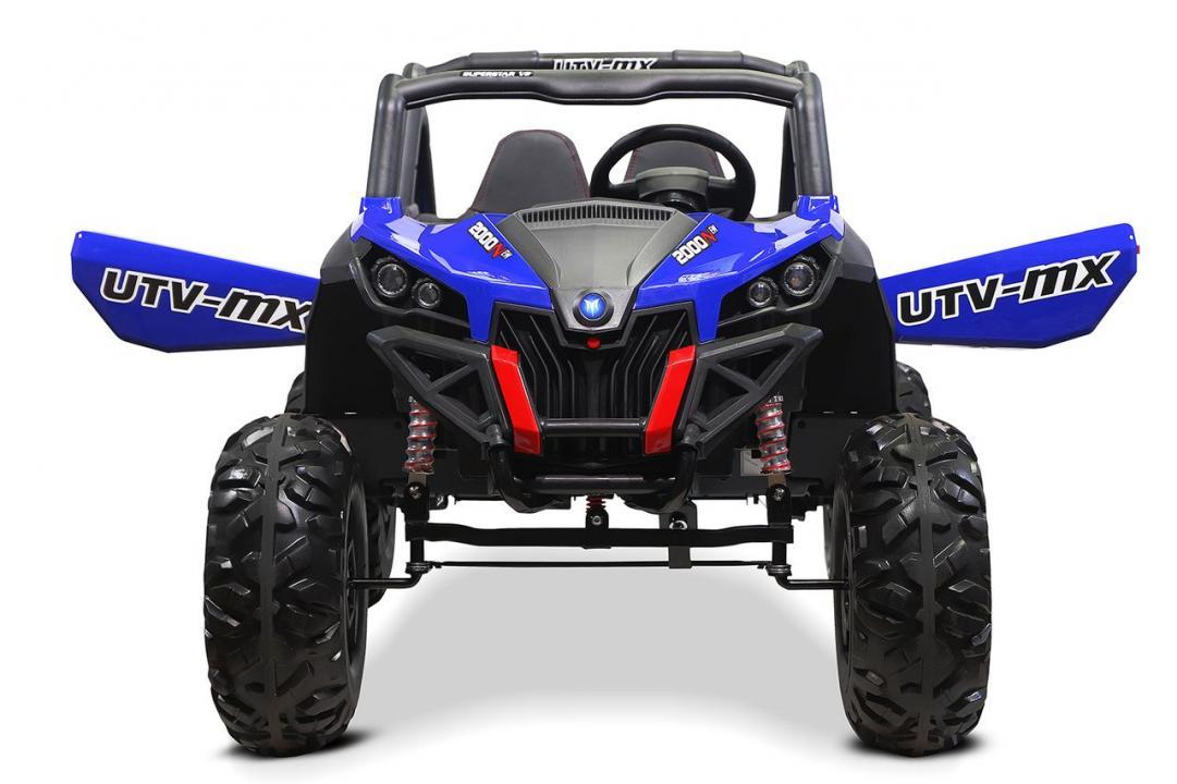 UTV Electric pentru copii Rocker 2 x120W Blue Nou