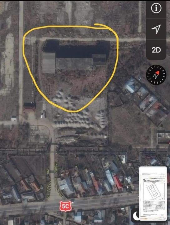 De vânzare teren+construcție neterminată, destinat afacerilor / zona Giurgiu